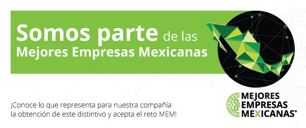 Somos parte de las Mejores Empresas Mexicanas